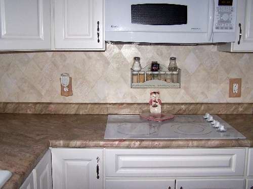 Counter Top decorated with PaperIllusion Hearthstone Creme and Bone 5807066